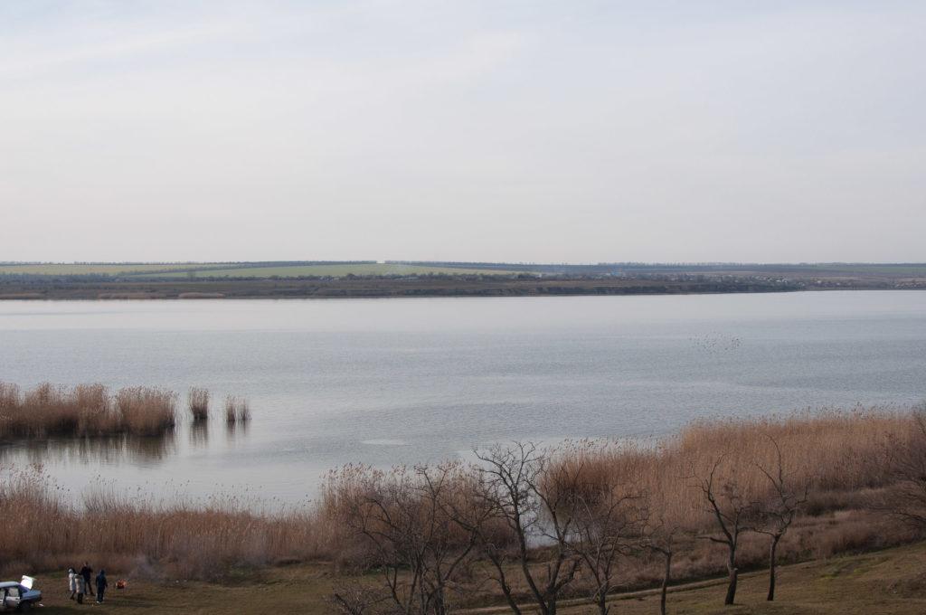 Узкое место озера Ялпуг