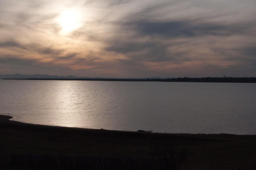 Пересечение озера Кагул с выходом на ж/д