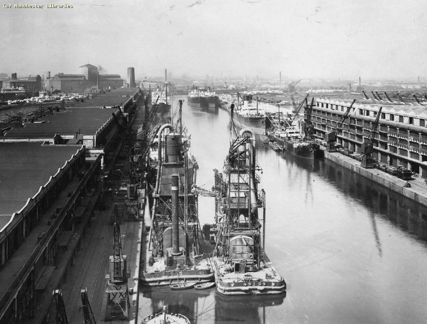 1900 год – Манчестерские доки